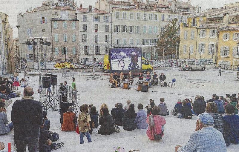 La Place du Refuge revue et corrigée par les habitants – La Provence