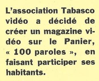 Tabasco donne 100 Paroles aux habitants – La Marseillaise