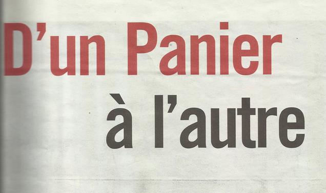 D'un Panier à l'autre – Marseille L'Hebdo
